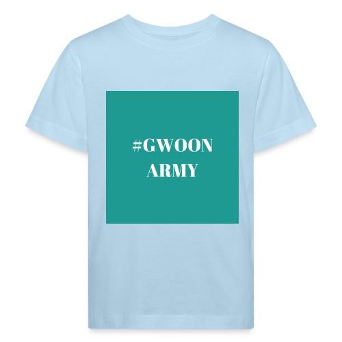 #gwoonarmy - Kinderen Bio-T-shirt