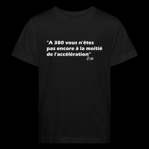 380 (blanc) - T-shirt bio Enfant
