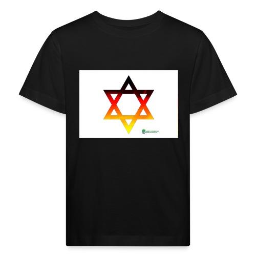 deutschland davidstern - Kinder Bio-T-Shirt