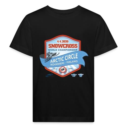 MM Snowcross 2020 virallinen fanituote - Lasten luonnonmukainen t-paita