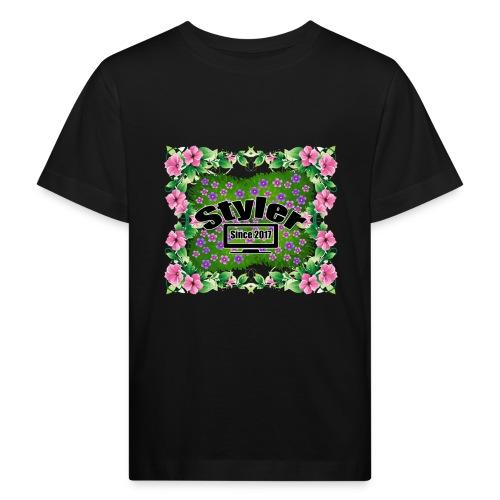 Styler Bloemen Design - Kinderen Bio-T-shirt