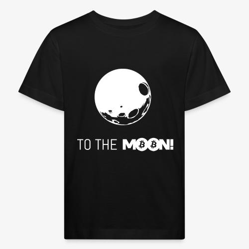 HODL-moonbtc-w - Kids' Organic T-Shirt