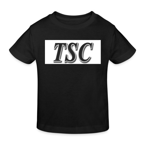 TSC Black Text - Kids' Organic T-Shirt