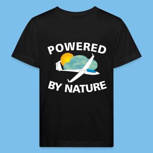 Natur Segelflieger gleiten Geschenk Pilot - Kinder Bio-T-Shirt
