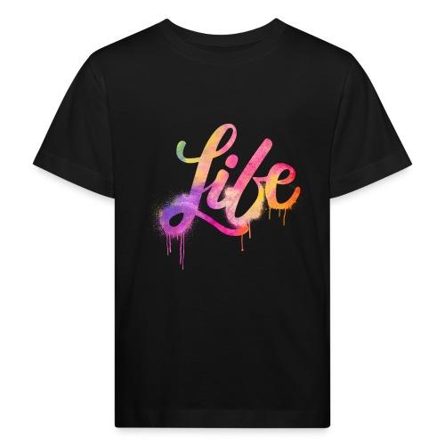 life - Maglietta ecologica per bambini