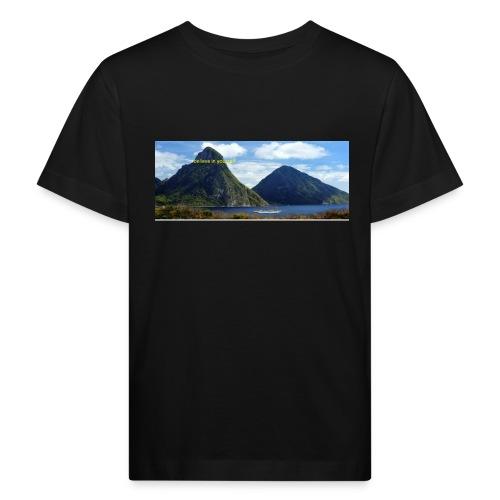 believe in yourself - Kids' Organic T-Shirt