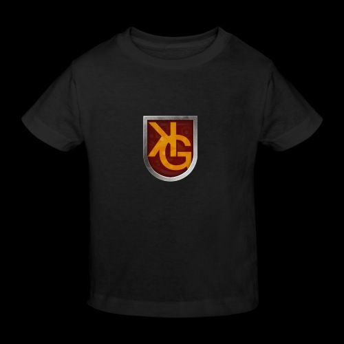 KG logo - Lasten luonnonmukainen t-paita