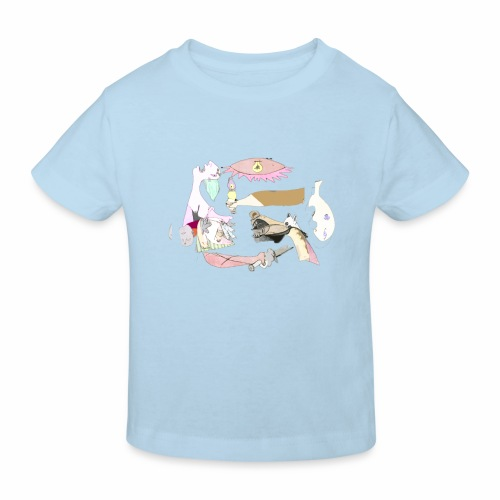Pintular - Camiseta ecológica niño