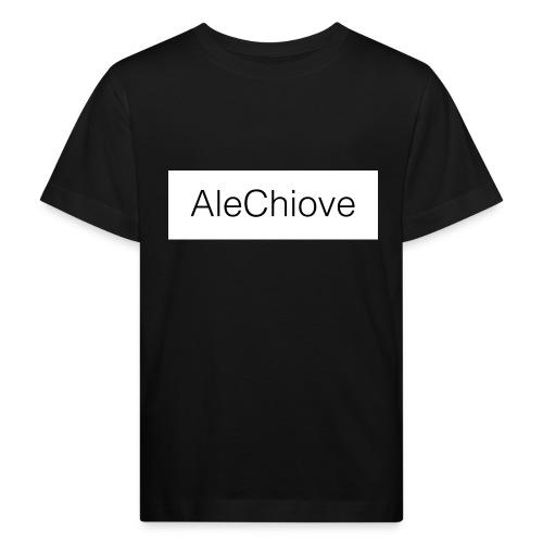 T-Shirt AleChiove - Maglietta ecologica per bambini