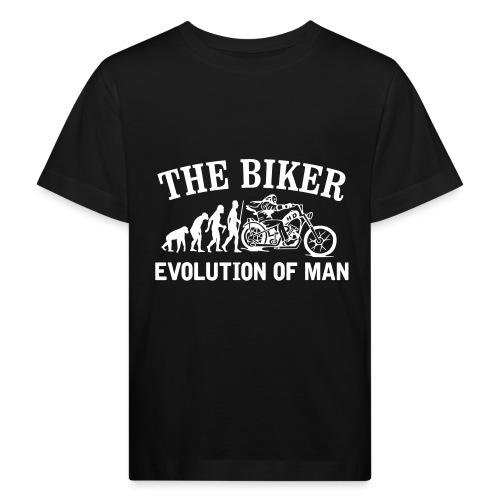 Evolution of man - Camiseta ecológica niño