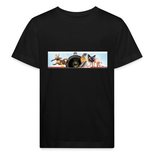Animaux logo - Kinderen Bio-T-shirt