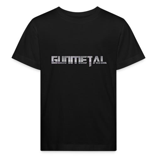 Gunmetal - Kids' Organic T-Shirt
