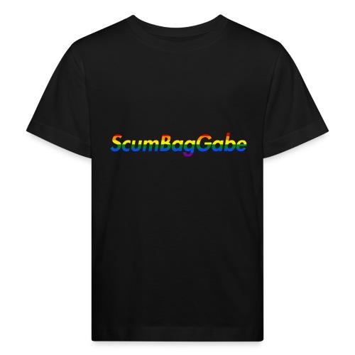ScumBagGabe Multi Logo XL - Kids' Organic T-Shirt