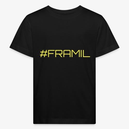 #framil - Lasten luonnonmukainen t-paita