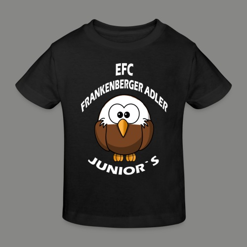 Junior`s Weiß - Kinder Bio-T-Shirt