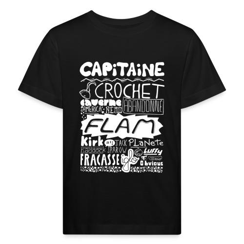 capitaine-blanc Tee shirts - T-shirt bio Enfant