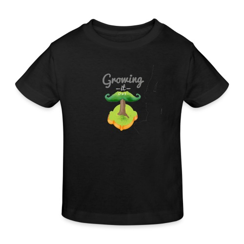 Moustache tree - Kids' Organic T-Shirt