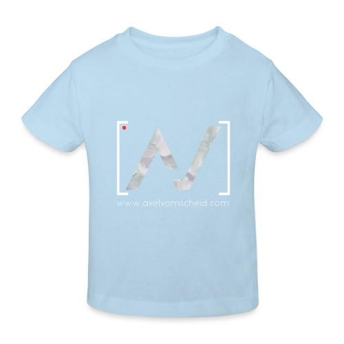 logoalpha blanc - T-shirt bio Enfant