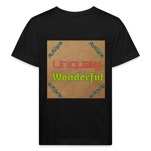 Autism statement - Kids' Organic T-Shirt
