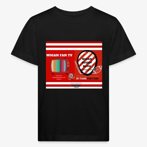 Sponsored by Logo - Kids' Organic T-Shirt