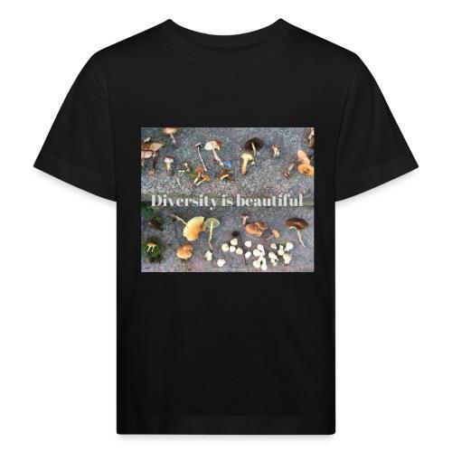 Diversity is beautiful - Organic børne shirt