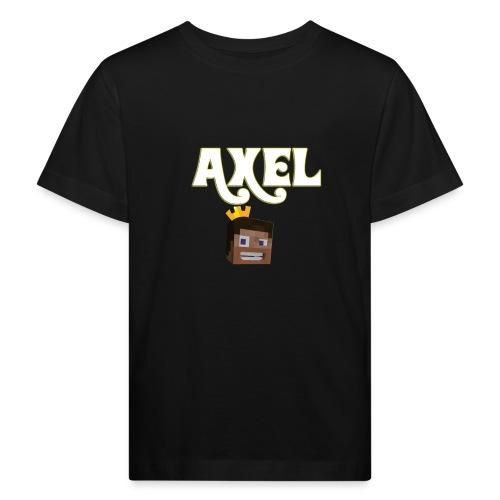 Axel Gam3r - Maglietta ecologica per bambini
