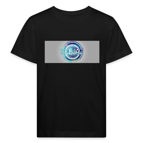 LOGO WITH BACKGROUND - Kids' Organic T-Shirt