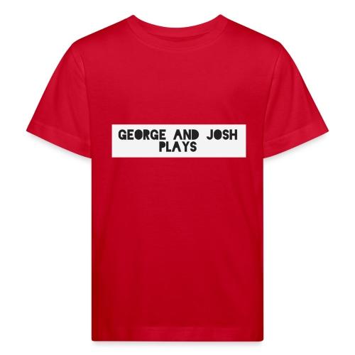 George-and-Josh-Plays-Merch - Kids' Organic T-Shirt