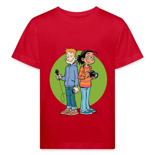 Teenager Premium Langarmshirt Reporter - Kinder Bio-T-Shirt