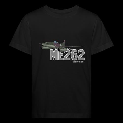 Me 262 Schwalbe (writing) - Maglietta ecologica per bambini