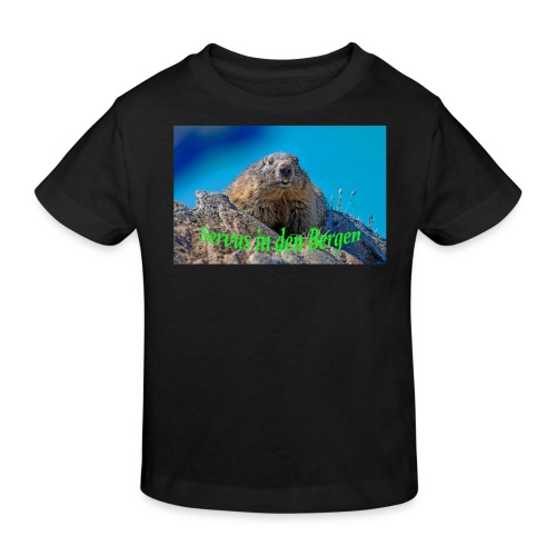 Servus in den Bergen - Kinder Bio-T-Shirt