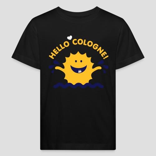 Rhein Monster Hello Cologne - Kinder Bio-T-Shirt