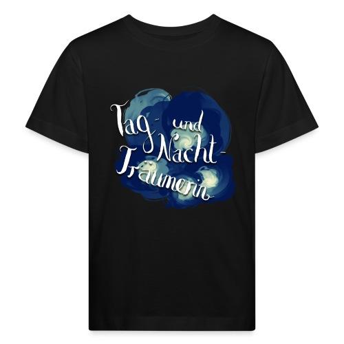 Tag- und Nachtträumerin - Kinder Bio-T-Shirt