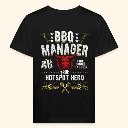 BBQ Manager - Kinder Bio-T-Shirt