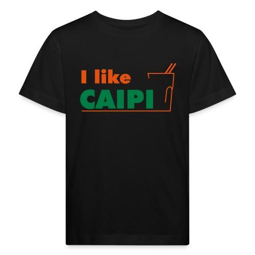freizeit i like caipi kurve - Kinder Bio-T-Shirt