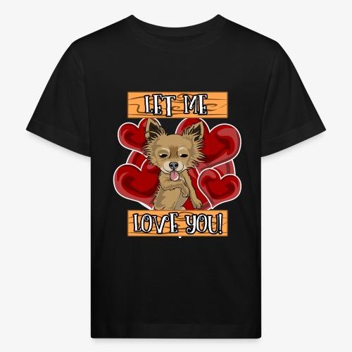 Engla says Let me love you! - Ekologisk T-shirt barn