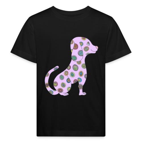 Lilo le chien fleuri - T-shirt bio Enfant