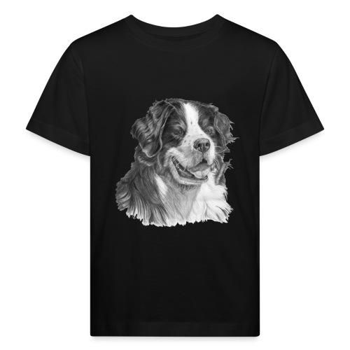 Bernese mountain dog - Organic børne shirt