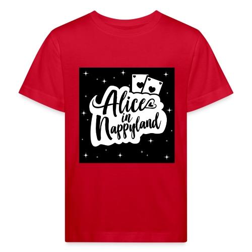 Alice in Nappyland 1 - Kids' Organic T-Shirt