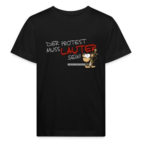 Protest-Äffchen1 - Kinder Bio-T-Shirt