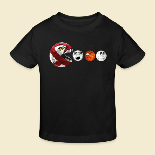 Radball | Cycle Ball RedMan - Kinder Bio-T-Shirt