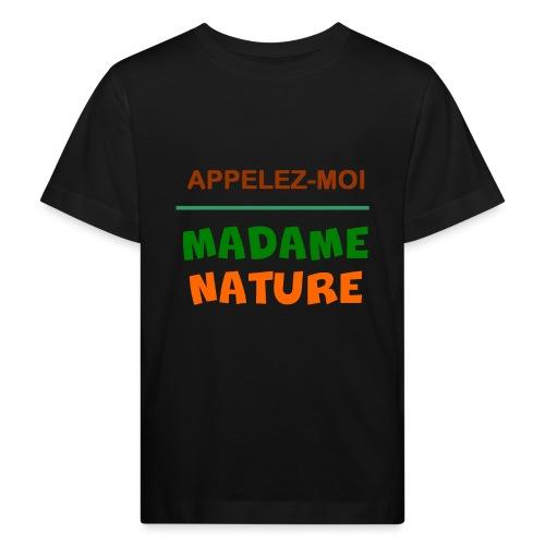 MADAME NATURE - T-shirt bio Enfant