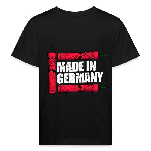 Silvester Feuerwerk Deutsche Knaller - Kinder Bio-T-Shirt