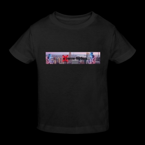 eXtreme fli99ers tryck på en tröja. - Ekologisk T-shirt barn
