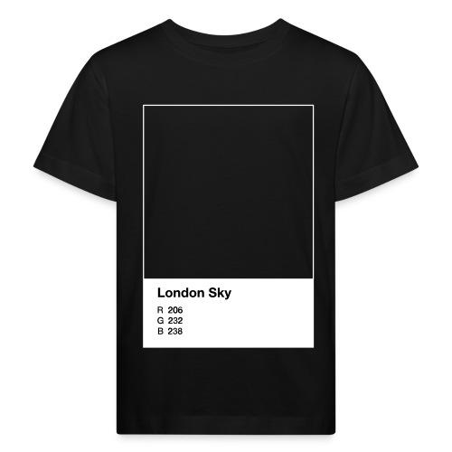 London Sky light blue - Kinder Bio-T-Shirt