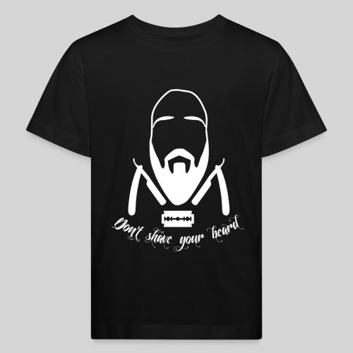Don't shave your beard - Lasten luonnonmukainen t-paita
