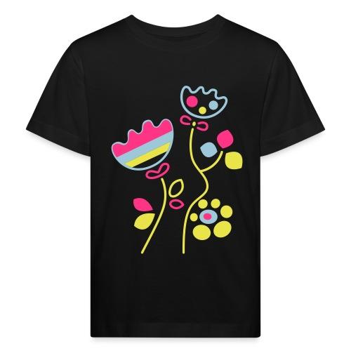 tulipani - Maglietta ecologica per bambini