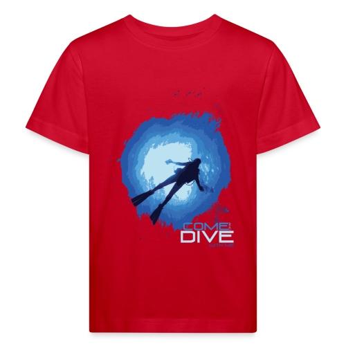 Come and dive with me - Ekologiczna koszulka dziecięca