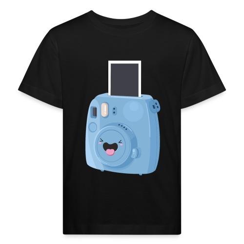 Appareil photo instantané bleu - T-shirt bio Enfant