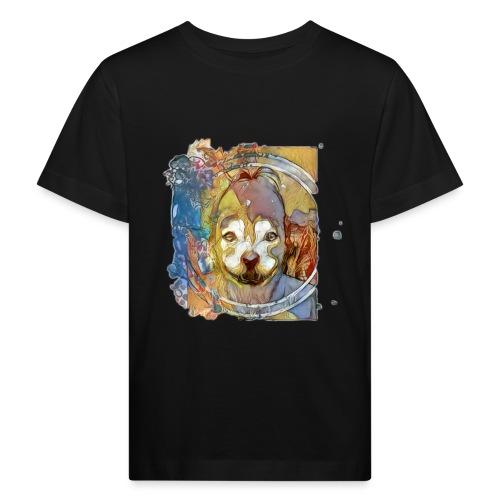 Dog Face - Kinderen Bio-T-shirt